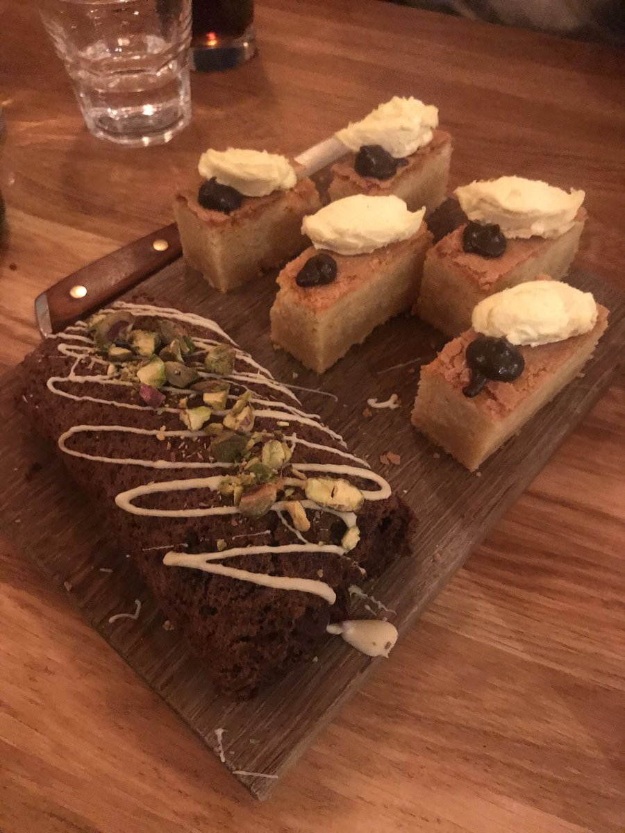 We enjoyed a lovely team meal at @aruleoftum The Bookshop last night! The desserts were particularly delicious, can anyone guess what these are? #local #herefordshire #independentbusiness pic.twitter.com/lPwje7Osu0