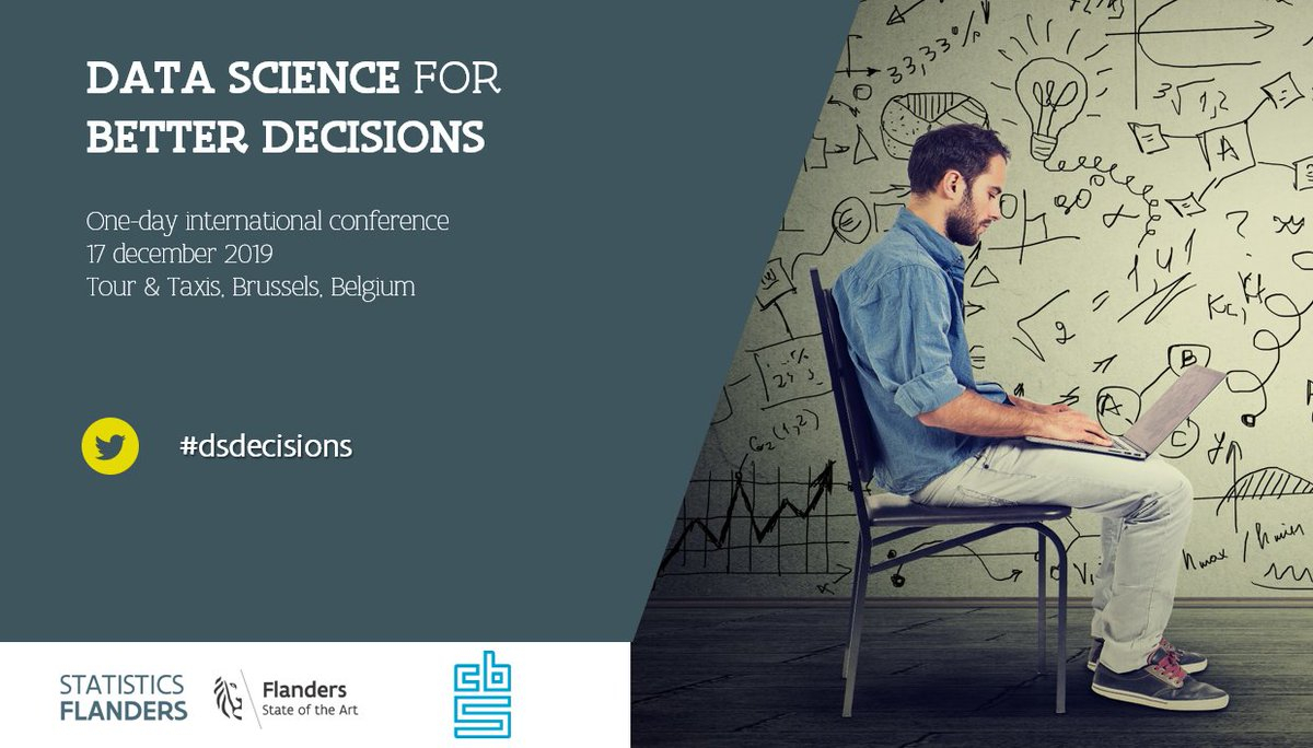 Looking forward to our Data Science for Better Decisions conference @statistiek_vl @statisticscbs on Tuesday - with @anneliesbeck  @DianeCoyle1859 @kncukier @DiegoKuonen @pvanimpe and a host of other excellent speakers. We're full up but you can follow the day here #dsdecisions