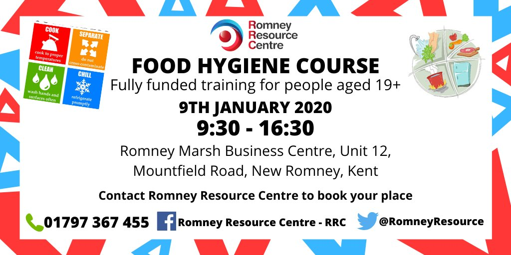 #FridayThoughts #Training  New Year, New You! Thinking of a career in the catering industry? We have a fully funded Food Hygiene course for the 9th January 2020.  Contact us to book your place. <br>http://pic.twitter.com/zq4lDE8RCp