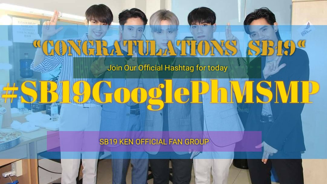 [Twitter party] Good evening A'TIns  Today let's show our love and support to our beloved SB19 by tweeting to them for being The Most Searched Male Personality of Google PH 2019.  #SB19GooglePhMSMP | @SB19Official #SB19<br>http://pic.twitter.com/YUQYXIzbvx