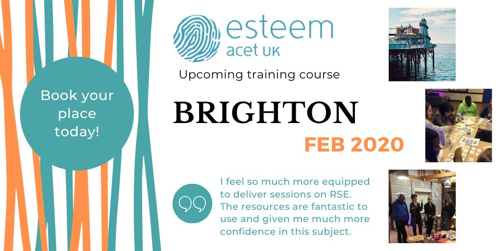 Looking to develop your knowledge & grow in confidence to deliver RSE to young people? We have a course in Brighton this coming February that could be for you! Book your place today - http://ow.ly/tMsz50xjFVs   @whatsonbrighton @DailyBrighton #RSE #brightonhour #hove #RSEmatterspic.twitter.com/5XnbxtZY9L