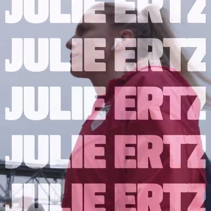 It is a truth universally acknowledged that @julieertz's impact on the field is second to none. Give it up for your 2019 #USWNT Player of the Year!