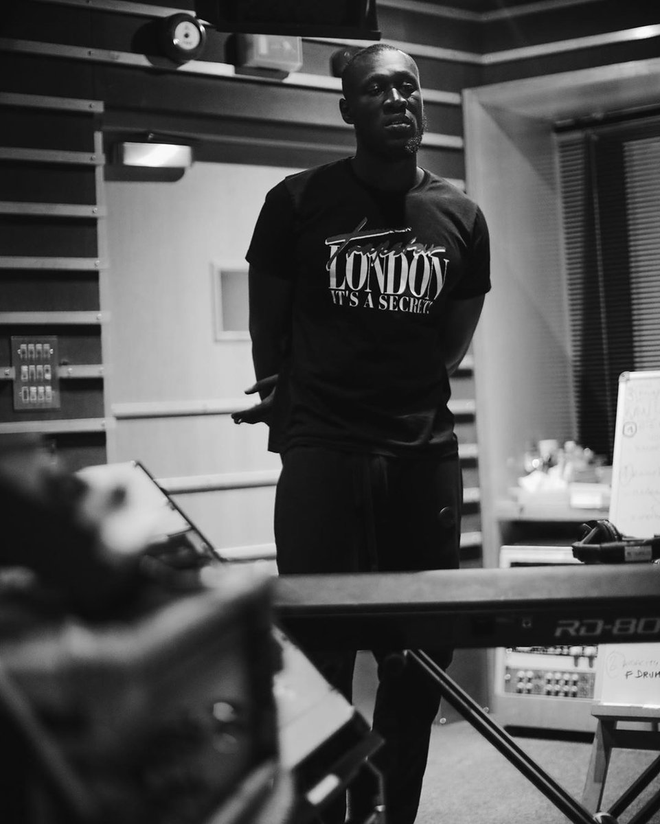 We are honoured to have been @stormzy's home while he was working on his highly anticipated second albumc'𝐇𝐞𝐚𝐯𝐲 𝐈𝐬 𝐓𝐡𝐞 𝐇𝐞𝐚𝐝'.🔥The album was assisted by our very own Harpaal Sanghera, with our in house engineer Liam Nolan recording Stormzy's hit track 'Vossi Bop'.