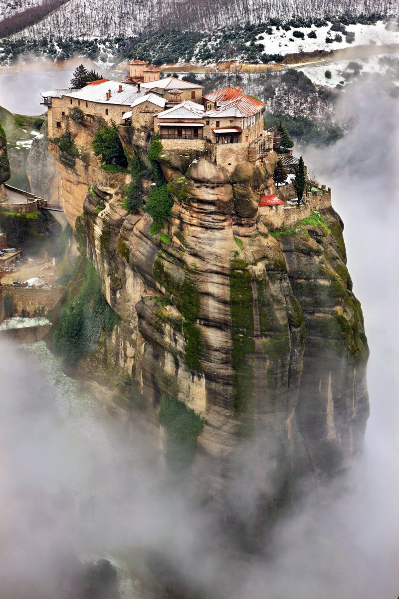 Good morning!!!! Meteora!!!!!  Greece!!! <br>http://pic.twitter.com/cR24ftWQdO
