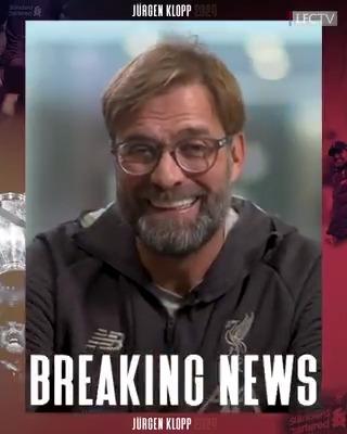 Officiel : Jürgen Klopp rempile à Liverpool jusqu'en juin 2024