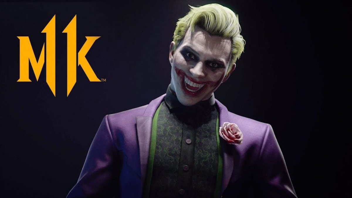 I seriously can't wait till joker comes out in MK11. He looks so fucking cool <br>http://pic.twitter.com/FxHp4lmWA0