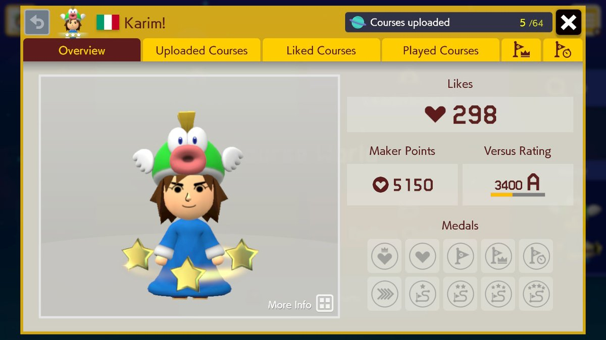 Showing off a new look #SuperMarioMaker2 #NintendoSwitch<br>http://pic.twitter.com/vAg3iX94Iq