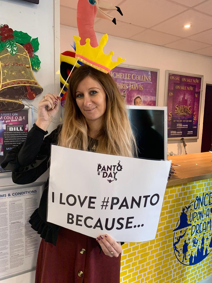 """...it's full of Christmas nostalgia!"" - Laura James, Theatre Director 🎭 #panto #pantoday #swinpanto @panto_day"