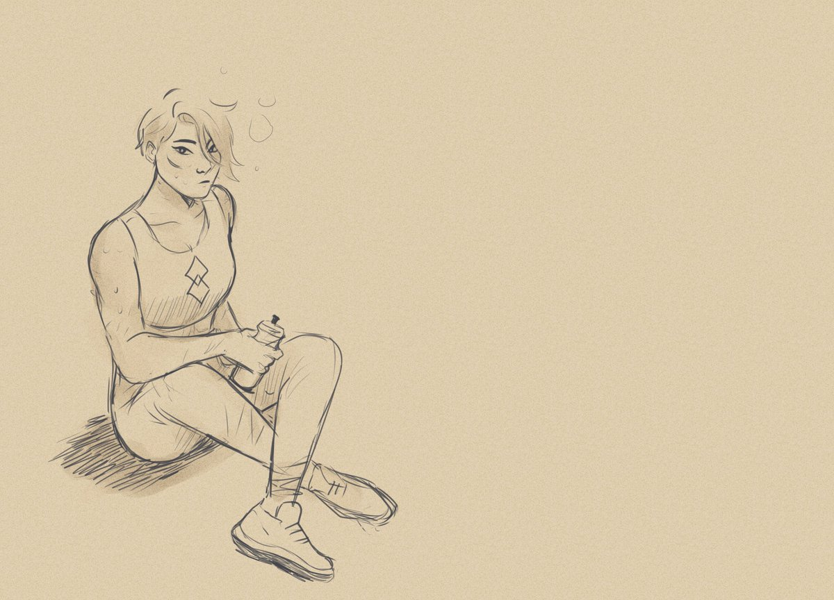 Amaya after training. Inspired by those tdp end credit drawings #TheDragonPrince #tdpart<br>http://pic.twitter.com/CHWYoFRmb7