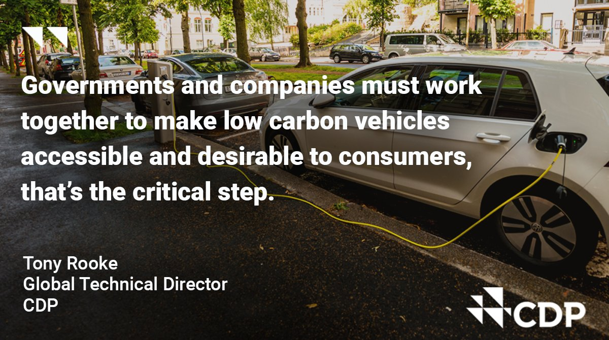 A shift to low-carbon vehicles is around the corner. The building blocks are there and the new ACT methodology will help companies become leaders in this shift and deliver on the #ParisAgreement. Find out more: bit.ly/2YkYtZj @ademe @SDGBenchmarks