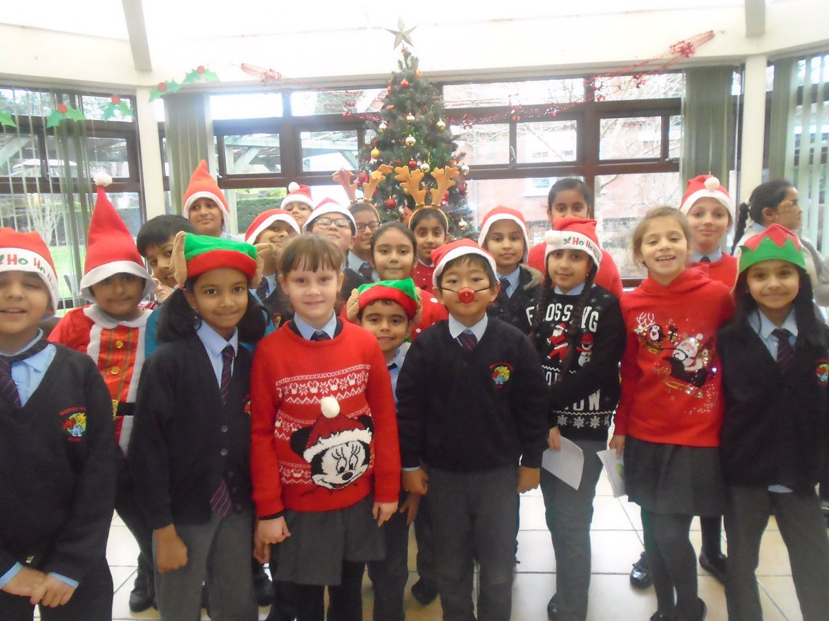 This morning our children went to sing Christmas songs to the residents of Woking Homes. #community