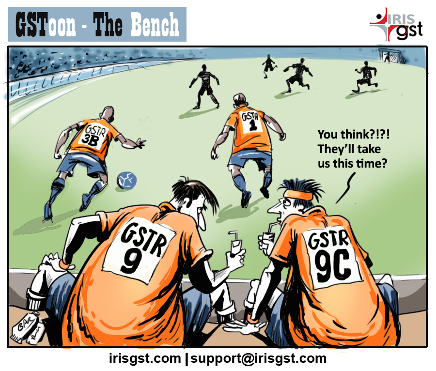 Meanwhile on the #GST turf #FridayFun #GSToon #Comic<br>http://pic.twitter.com/3WqQFZQp35