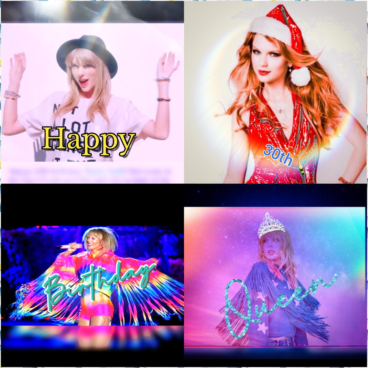 Happy 30th Birthday to the Women of the decade and my role model @taylorswift13 You are the most sweetest, caring and bravest woman Ive ever seen and Ive looked up to you since I heard your first album. I love you❤ #IStandWithTaylor #Swifies @taylornation13