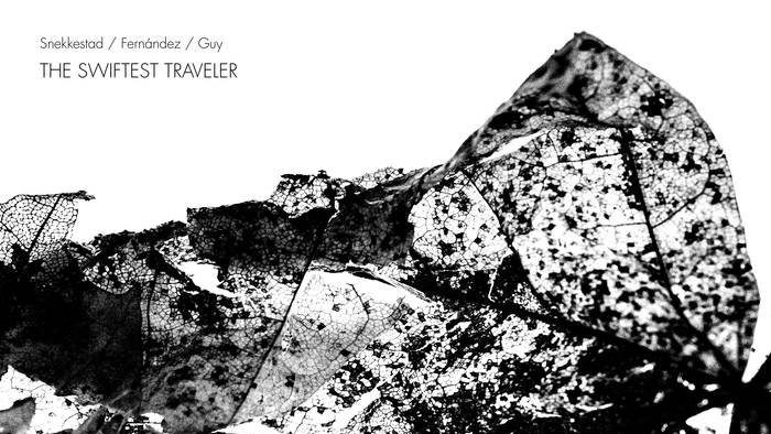 "Image result for Torben Snekkestad, Barry Guy, Agustí Fernandez - The Swiftest Traveler"""