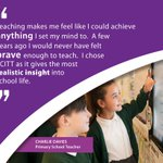 Charlie has the right idea!  Find out more about teacher training: https://t.co/mloEPp9Djd  #getintoteaching #traintoteach #SCITT