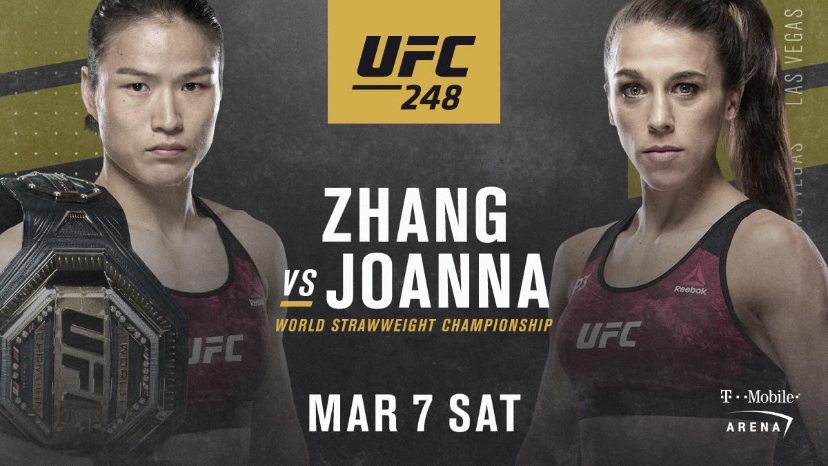"""UFC on Twitter: """"A strawweight classic is brewing 👑 #UFC248… """""""