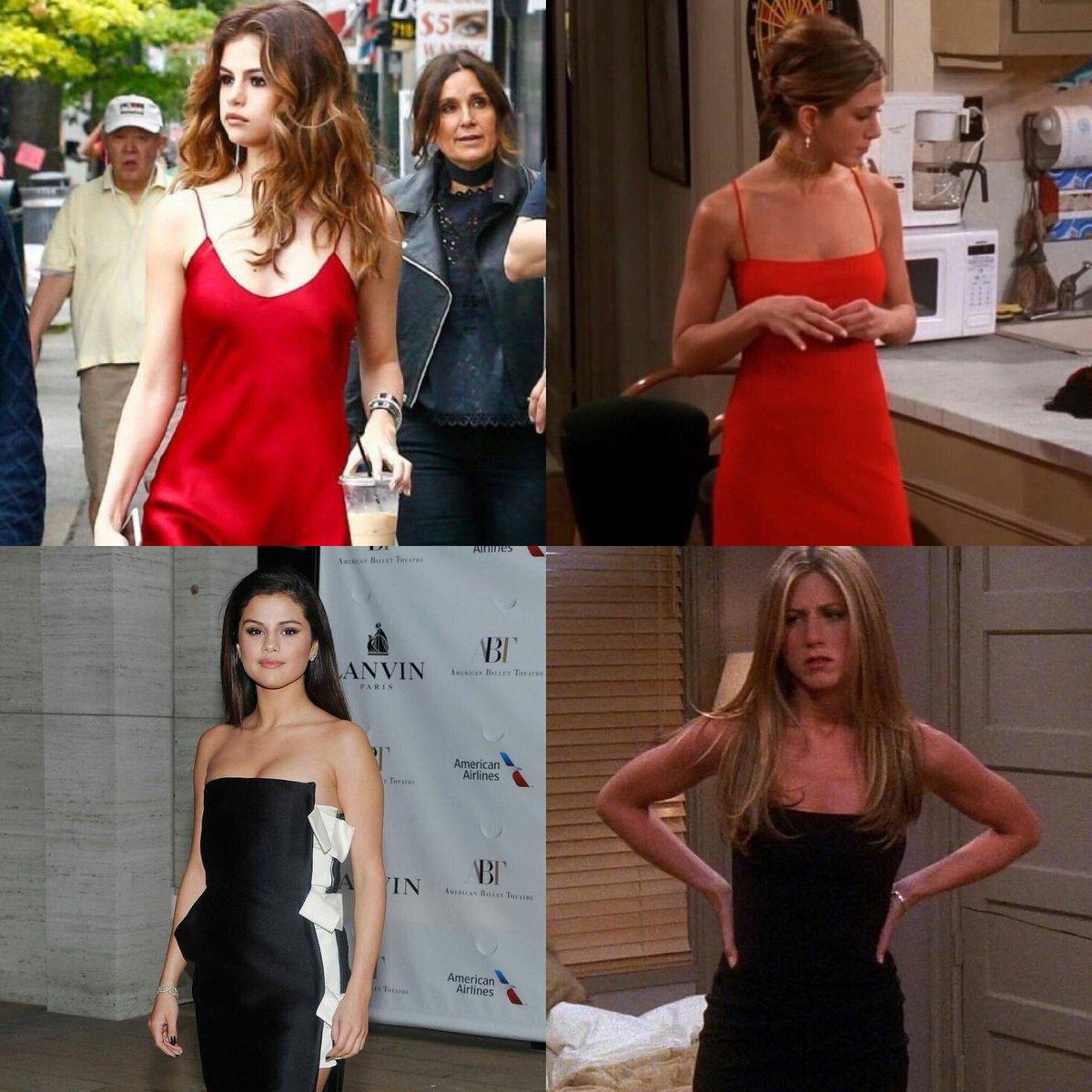 Selena Gomez as Rachel Green.