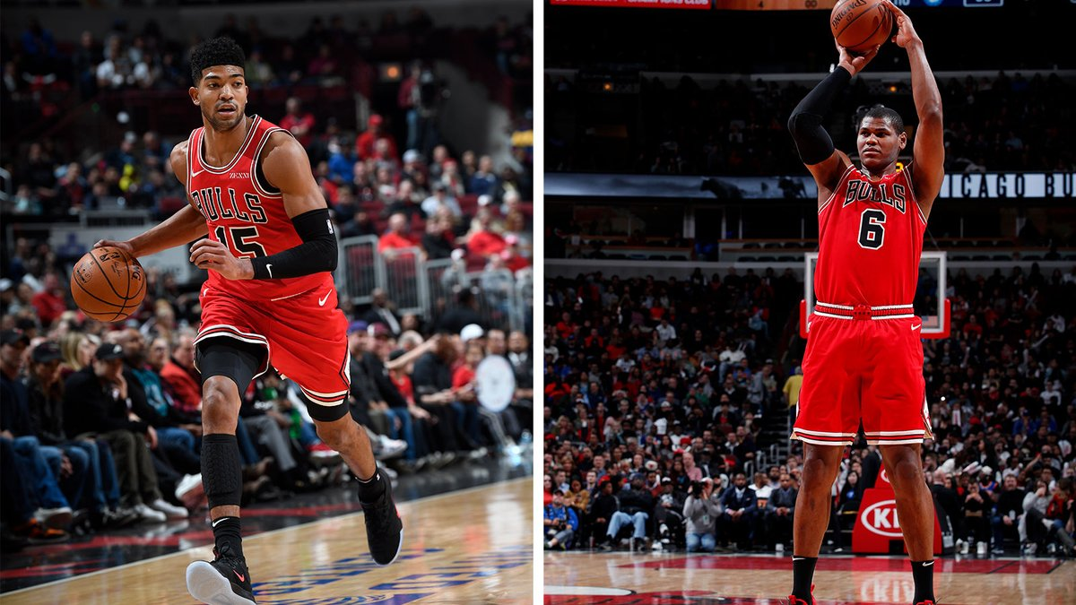 The Bulls have assigned Chandler Hutchison and Cristiano Felicio to the @WindyCityBulls.