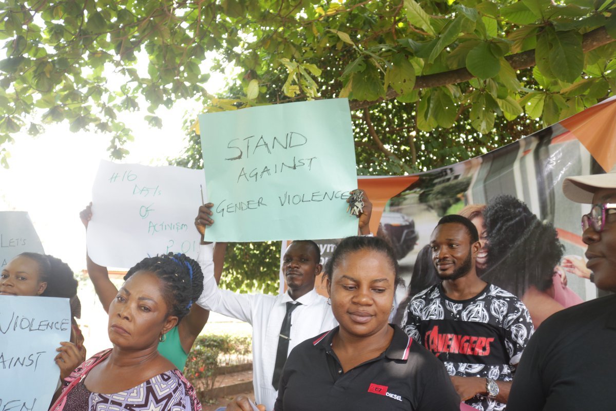 """Our Creative Director @UtibeEmmanuelA1  Becoming an """"Avenger"""" and same time Advocating for Ending violence of all forms against women It is Media for Change or nothing#Avengers #Media4Change #Media4Dev #Comms4Change #Comms4Dev #SocialChange #MediaImpact #UntusMediaImpactpic.twitter.com/xLqgMJZmXS"""