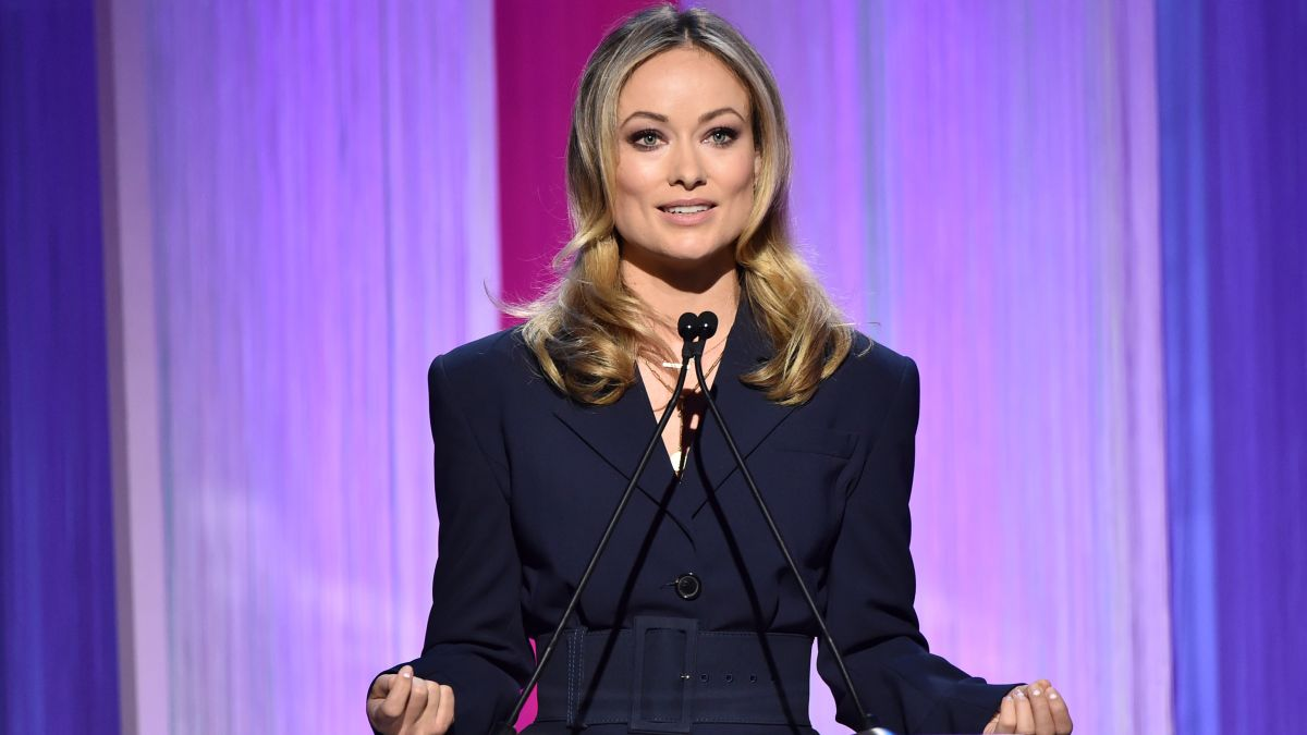 Olivia Wilde weighs in on controversy surrounding Richard Jewell reporter