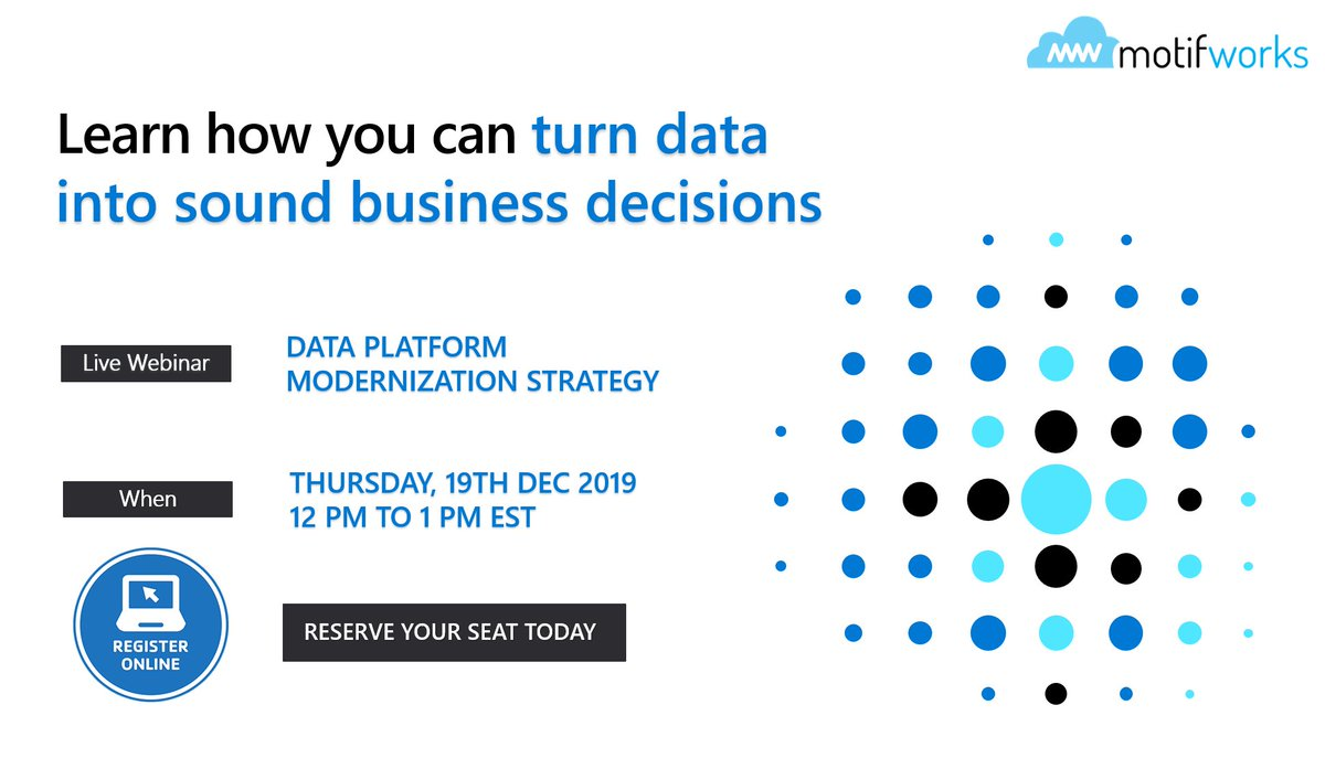Webinar: Data Platform Modernization Strategy by Motifoworks