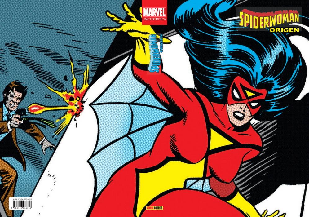 Novedad de Panini para febrero de 2020:  Marvel Limited Edition. Spiderwoman: Origen  https://www.universomarvel.com/marvel-limited-edition-spiderwoman-origen/…