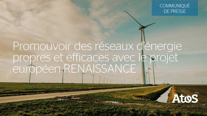 📣 Atos annonce sa participation au projet européen RENAISSANCE, financé par la...