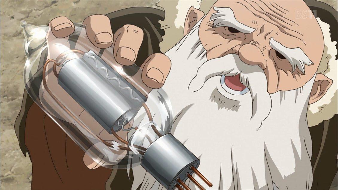 アニメ 感想 ストーン ドクター