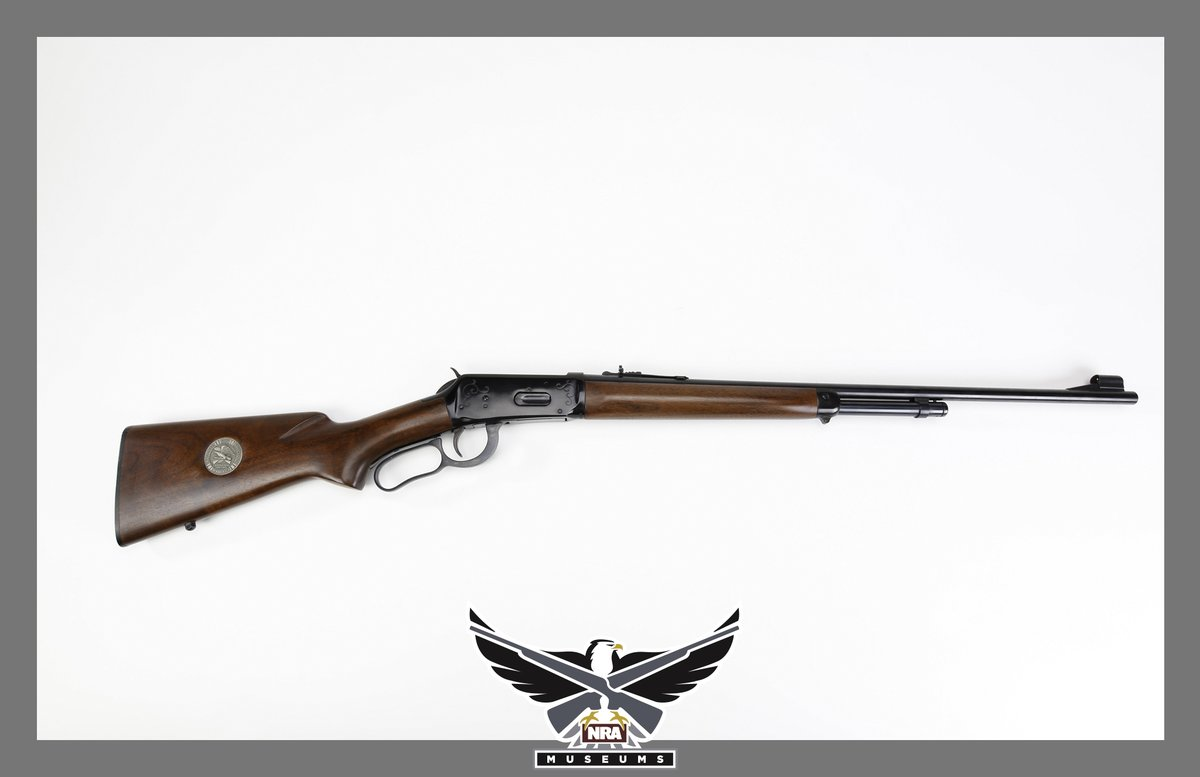 NRA RT NRA_museums: #GOTD - Winchester NRA Centennial Rifle. In addition to an NRA musket commemorative, Winchester also offered a special commemorative edition NRA rifle in 1971.  The NRA rifle had a shorter 24 inch barrel, paired with a shorter foreend…