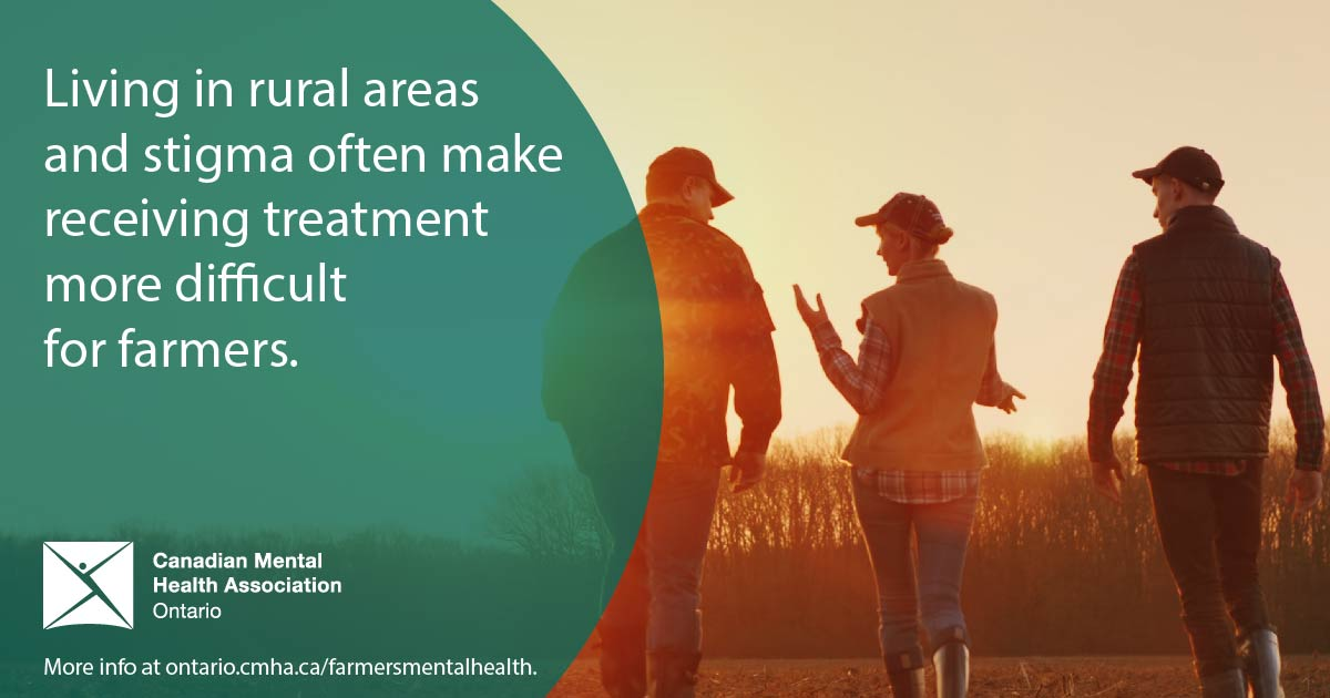 test Twitter Media - Living in rural areas and stigma make receiving treatment and acessing mental health or addictions services more difficult for #farmers. Read more on #farmersmentalhealth: https://t.co/TPsOknZBaB #farmersMH #ontag https://t.co/S8tcCrkz5O