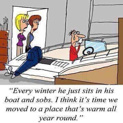 If the boater in your life is doing this today, just give them a hug and remember, it is Friday the 13th. #fridayfun <br>http://pic.twitter.com/KsNK7T9kZh