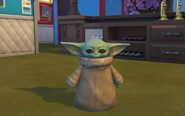 Baby Yoda has been added to Sims 4 - and players are absolutely loving it