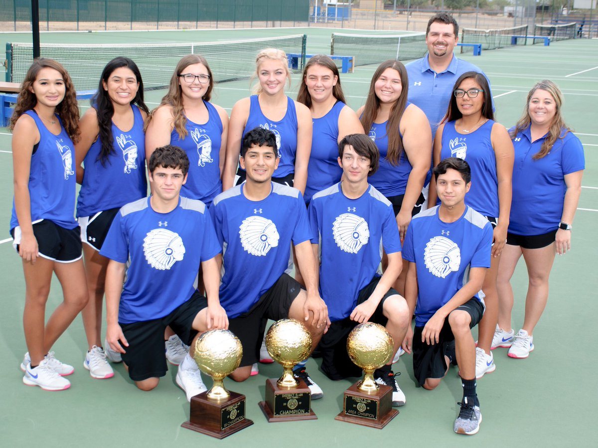 Introducing your 2019-20 District, Bi-District, and Area Champions,  Lake View High School Varsity and JV tennis team!  #TribeUp<br>http://pic.twitter.com/A1rMbWCEVs