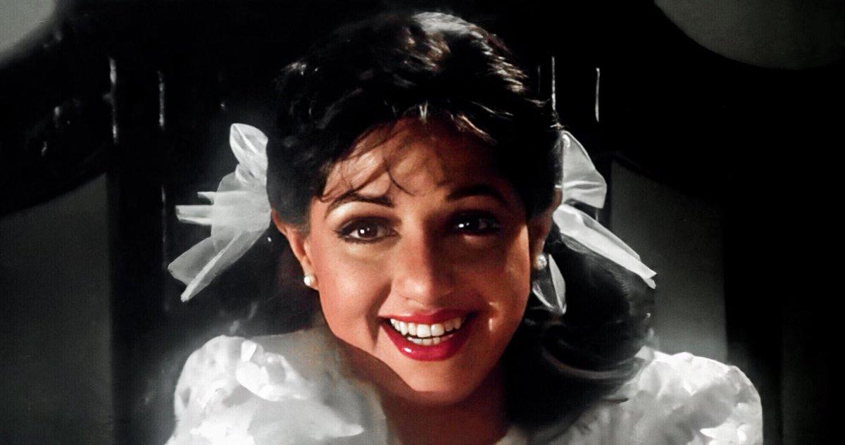 Sridevi (Chaalbaaz 1989) The most angelic baby👼🏻  @SrideviBKapoor looks like a doll.. 👌👍 #Sridevi #SrideviLivesForever #SrideviTheHero #SrideviForever