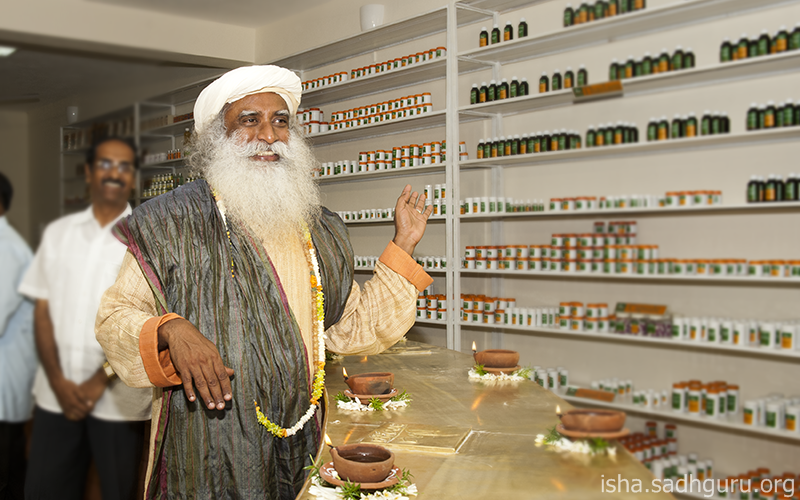 Do not be excessively concerned about your health – that itself is sickness. #SadhguruQuotes