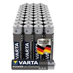 Image for the Tweet beginning: 40pk Varta Industrial AAA/AA Alkaline