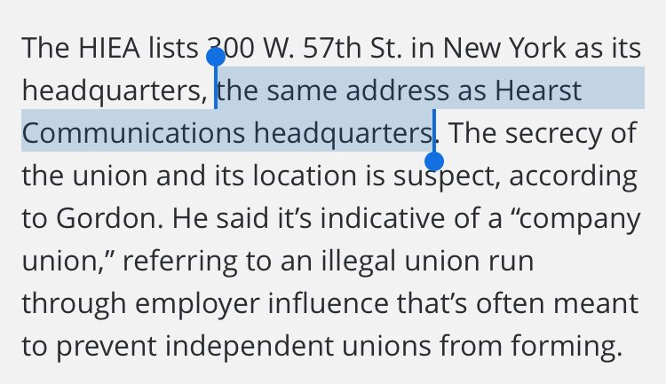 A secret union headquartered at corporate headquarters certainly does not seem suspicious news.bloomberglaw.com/daily-labor-re…