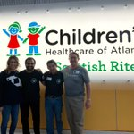 Image for the Tweet beginning: Thank you to @childrensatl for