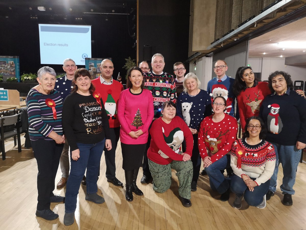 We donned our Xmas jumpers after the election results for @savechildrenuk #XmasJumperDay. Find out more here:  https://www. savethechildren.org.uk/christmas-jump er-day   …  <br>http://pic.twitter.com/UbVph5YS2R