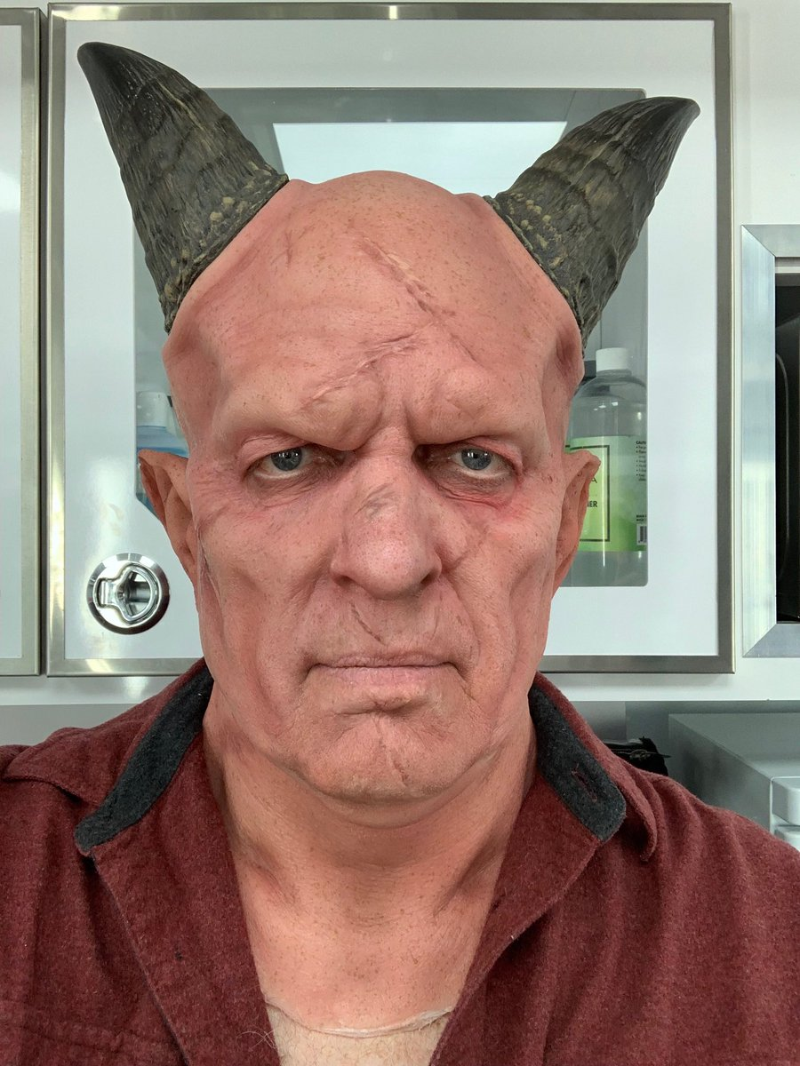 My make-up test #Burg #TheMandalorian #StarWars #epic https://t.co/uR2zJ7NUYm