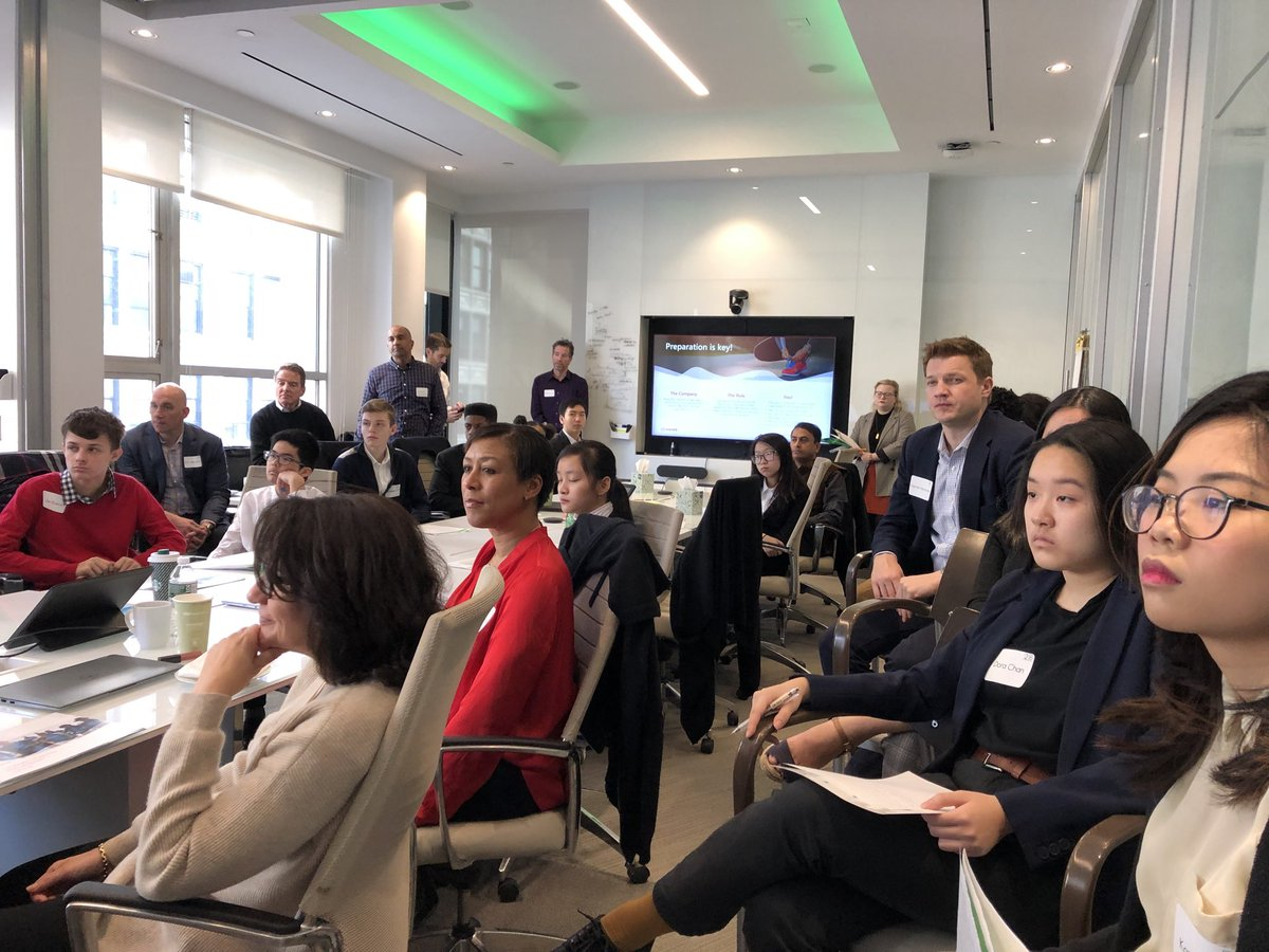 RT cgorsline: Spent a couple of hours yesterday on the back end of the Avanade Exec Co meet mentoring sophomores from Brooklyn Tech HS on interview skills and personal brand development. Junior Achievement rocks!  #Avanade #JA #Givingback Avanade