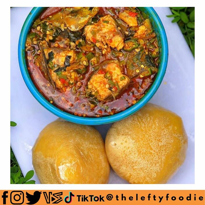 I don't really like Eba ooo, but I'm surely eating this  #TheLeftyFoodie<br>http://pic.twitter.com/UhsD6YW3Vv