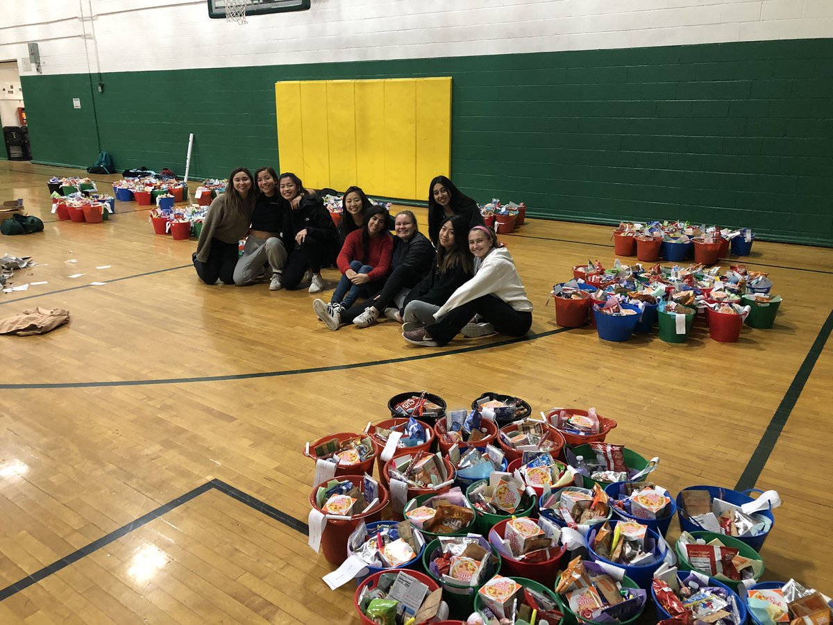 A Skidmore Women's Tennis tradition: Study Baskets! This year we put together and delivered 240 baskets. Happy Holidays! <br>http://pic.twitter.com/MBQSCrzPhh
