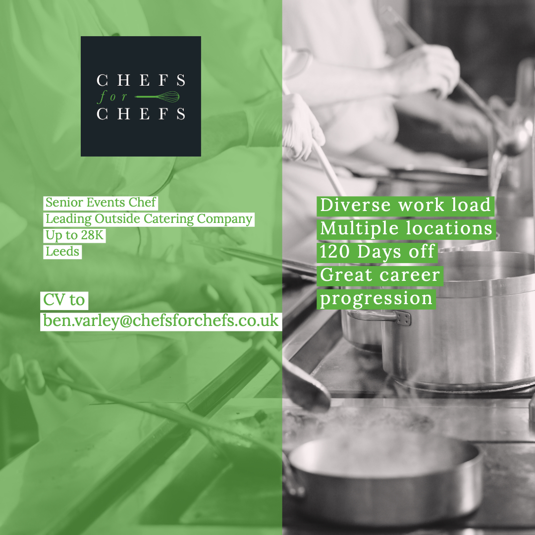 A great contract catering role based in Leeds, lots of scope for progression with this company. ben.varley@chefsforchefs.co.uk for more info #chefsforchefs<br>http://pic.twitter.com/9HNcvQC578