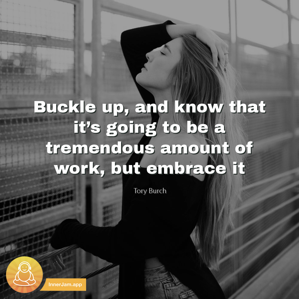 Buckle up, and know that it's going to be a tremendous amount of work, but embrace it. . #inspiration #motivation <br>http://pic.twitter.com/AvjZlsHDLK