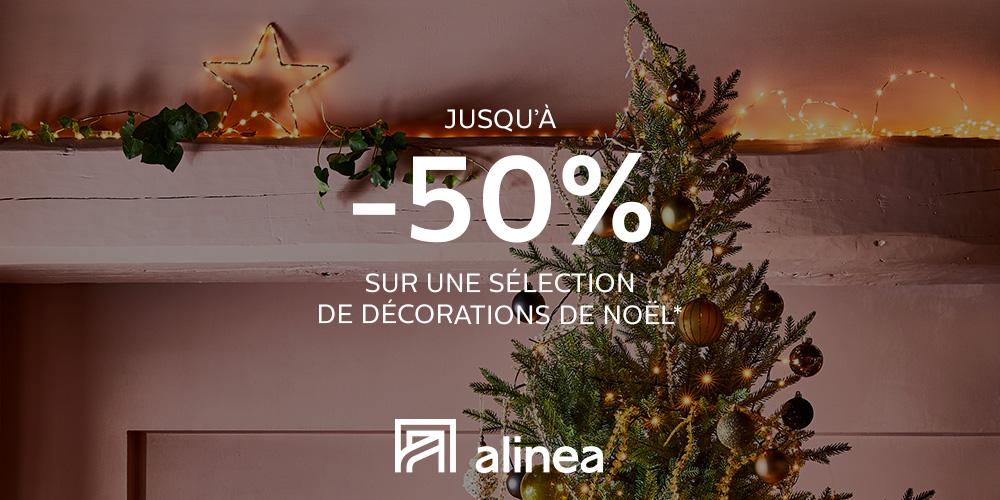 [OFFRE EXCEPTIONNELLE]  Du 14 au 25 décembre,  profitez d'une sélection de décorations de Noël jusqu'à -50%.*  *Voir conditions sur https://t.co/TB4Jo9D9gW. https://t.co/YmpCaXSx7H