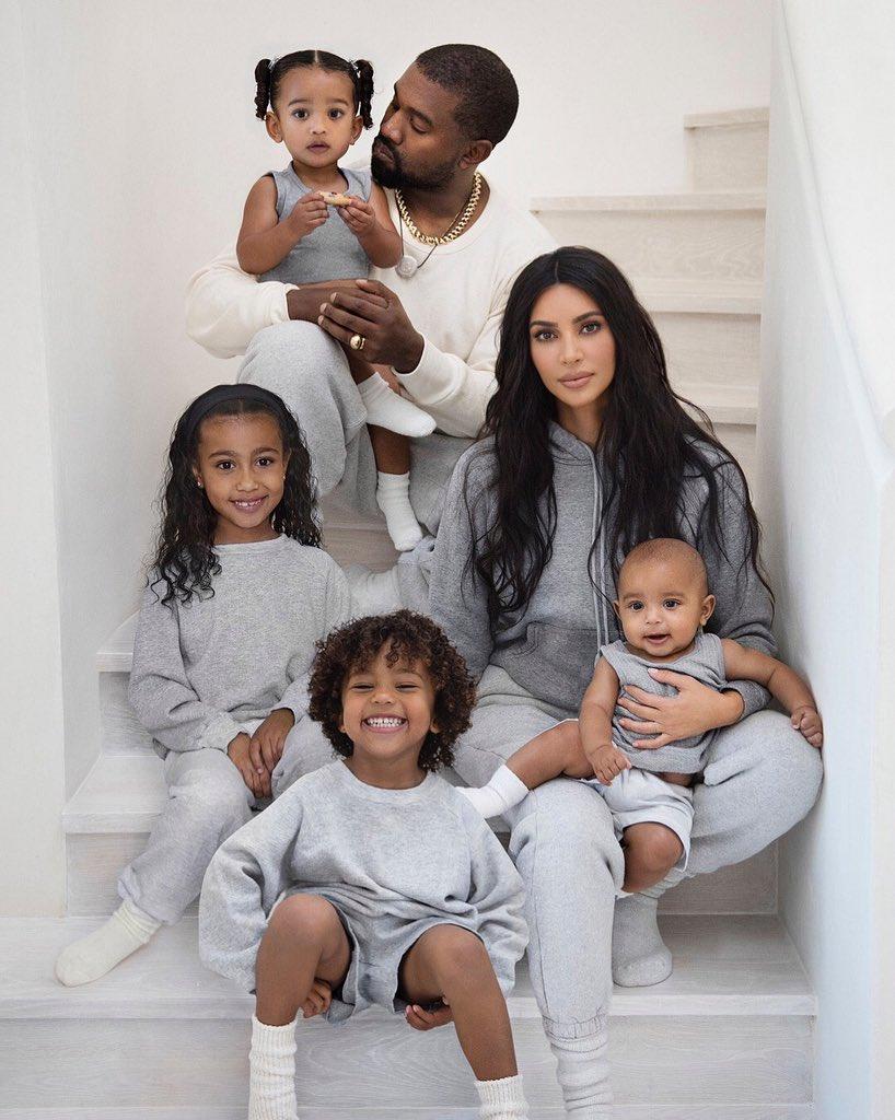 Kim Kardashian's 'beautiful' West family Christmas card sparks debate among fans: Is it Photoshopped?