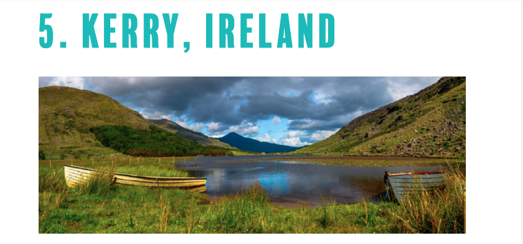 Thanks @MeetInIreland! We are beyond delighted at taking out #5 position on @PenguinsEvents 2020 list! #EventProfs; for a flavour of the #InspiredIncentives options the region has to offer, we think our 'One Amazing #MeetInKerry Day' video says it all https://t.co/DmVGRPlQL1 ☘