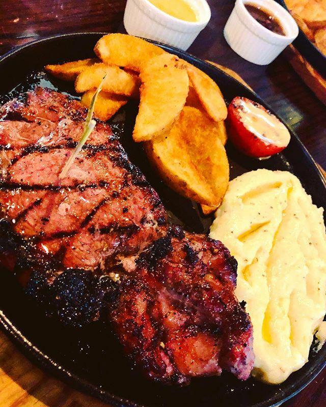 test Twitter Media - My definition of heavy meal - #Steak #MashedPotatoes! #Food #foodie #foodblog #foodblogger #Dhaka #Bangladesh #WoodHouseGrill https://t.co/WK5oAMNnA8 https://t.co/jtakz7l4b5