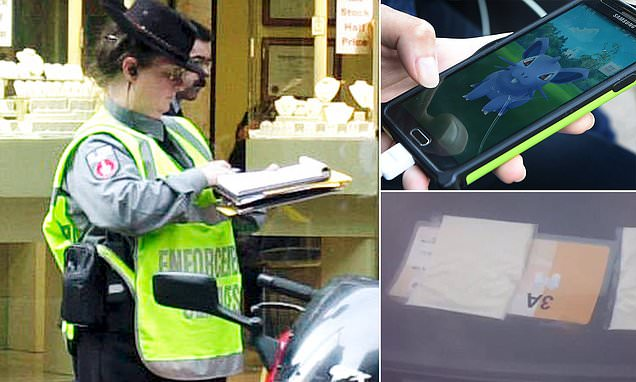 From across the pond: Catching Pokémon, getting their hair done and a slice of processed cheese: The astonishing list of excuses drivers have offered to get out of parking tickets  https:// mol.im/a/6645865     via @MailOnline #FridayFunny FridayFun #parkingticket<br>http://pic.twitter.com/hdhlTQXJ50